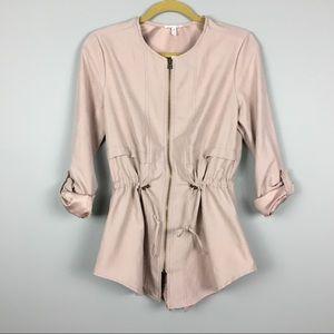 Maurice's Urban Safari coat drawstring S NWT